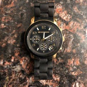 Black & Gold Watch